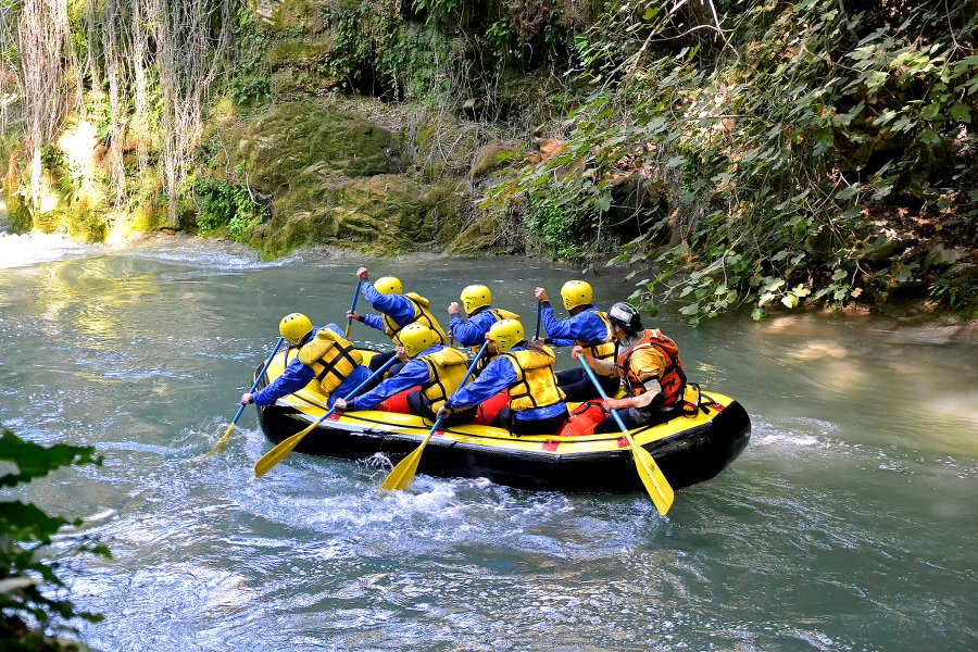 rafting italy activities