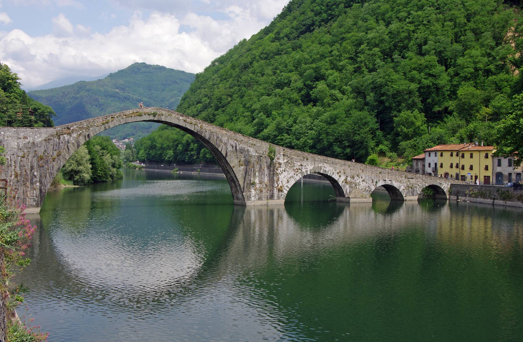 walking tuscany
